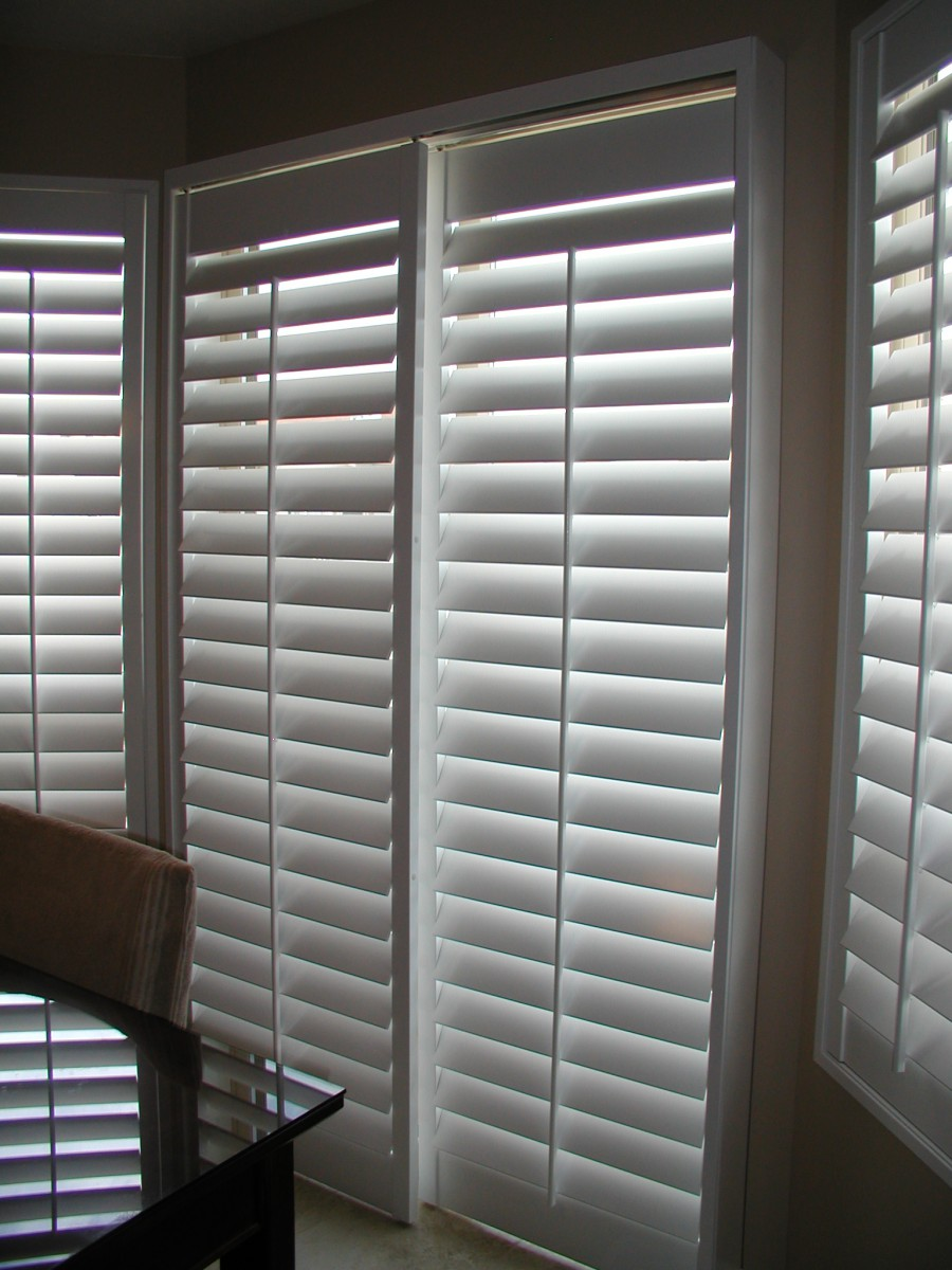 Bi-Pass Sliding Shutters Closed