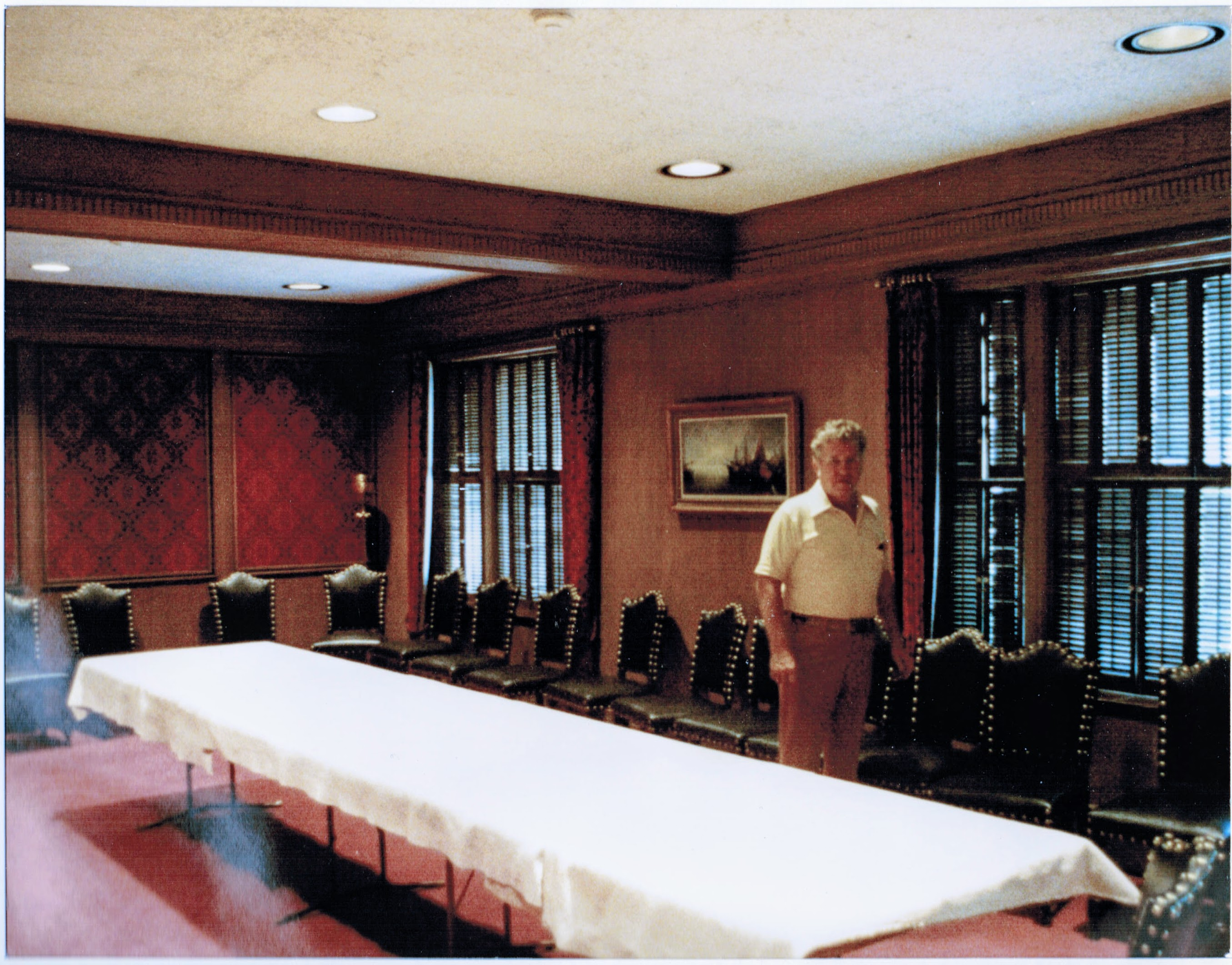 Paul Stanfield in 1975 at the Alta Club