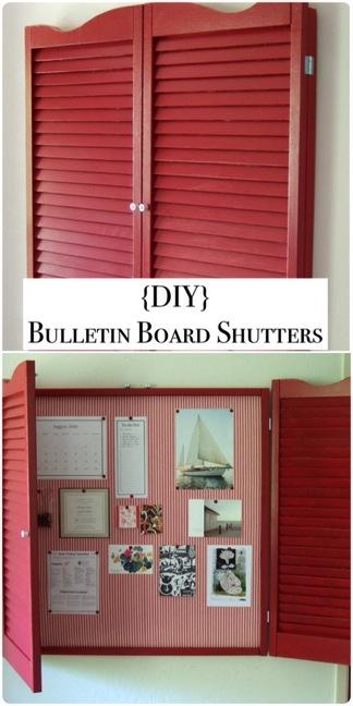 Bulletin Board Shutters