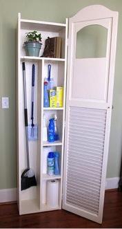 Shutter Closet Door