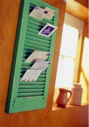 Shutter Mail Organizer