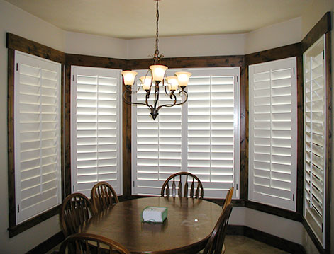 Shutter Paint and Stain Windows