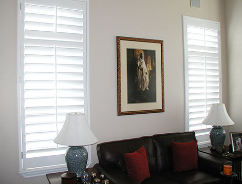 Vinyl Shutters Waterproof Synthetic