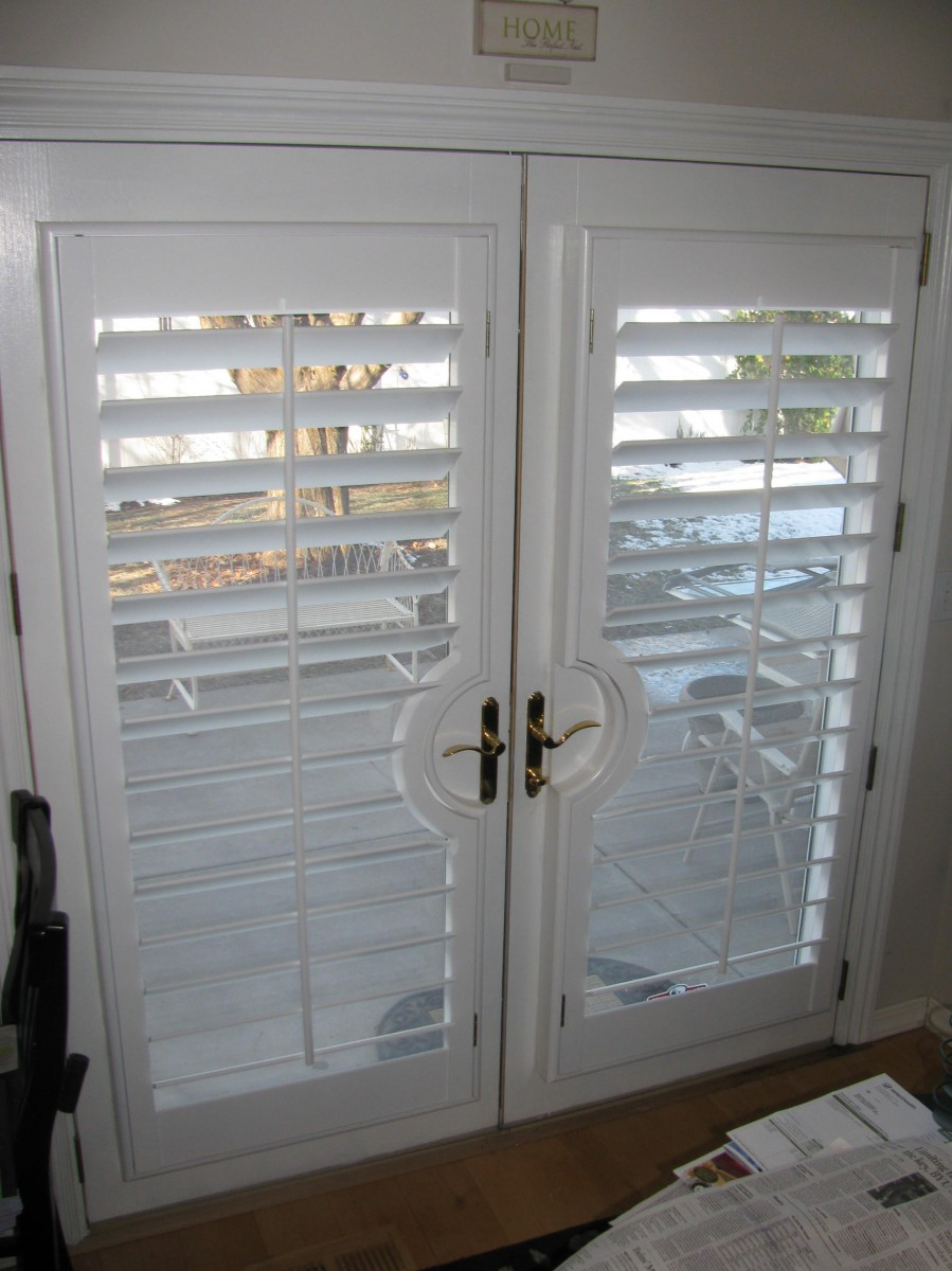 Double French Door Shutters
