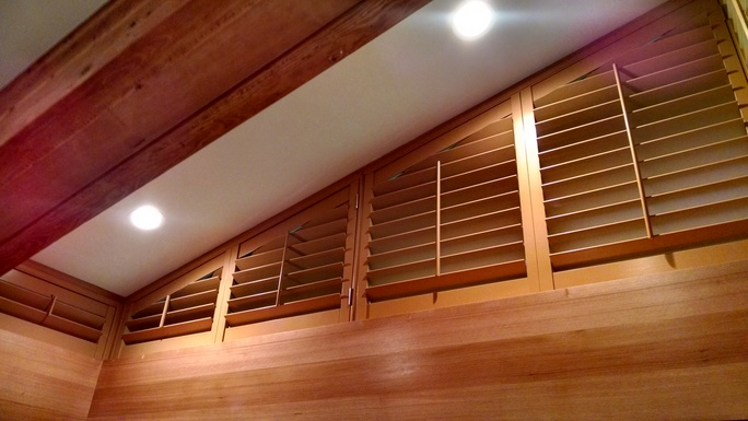 Indoor Shutters Provide Light Control