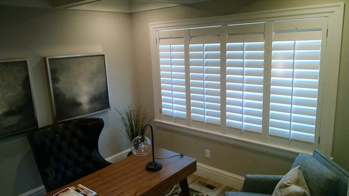Office Space White Shutters